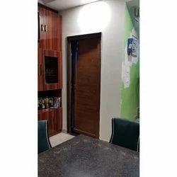 Brown UPVC Door