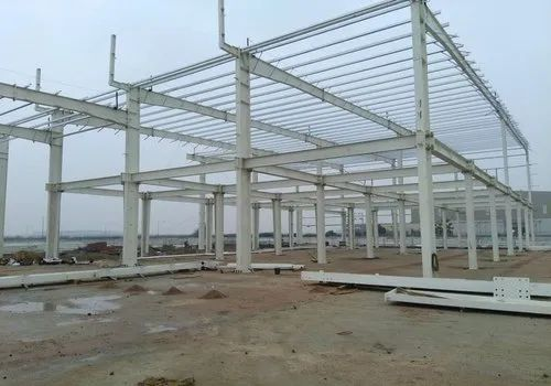 Steel Frame Structures Industrial Projects Warehouse Construction Services