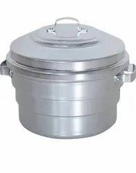 Stainless Steel Idli Steamer, Capacity: 1-5 Kg