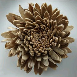 Brown Handmade Sola Flowers