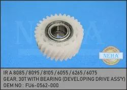 Gear, 30T With Bearing FU6-0562-000 IR A 8085 / 8095 / 8105 / 6055 / 6265 / 6075