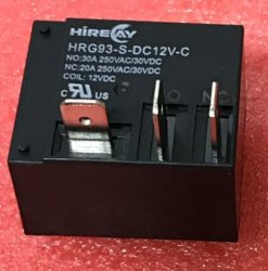 Box Type Relay HRG93-S-DC12V-C (12V / 20A-30A) HIRELAY