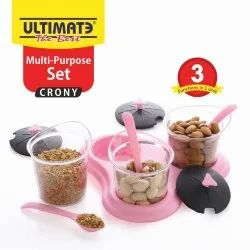 Multi Purpose Jar Set with Spoon