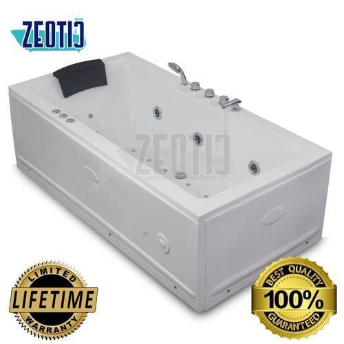 Zeotic India luna Jacuzzi Acrylic Hydromassage Bathtub
