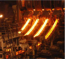 Continuous Casting Machine For Making Billets