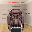 Indulge PMC-5000 Exquisite Style 4D Massage Chair by PowerMax Fitness