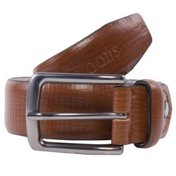Woodland BT 1077008 Brown Men's Leather Belt