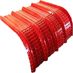 Crimp Curved Colour Galvalume Roofing Sheets