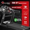 TDM-97 Powermax Motorized Treadmill