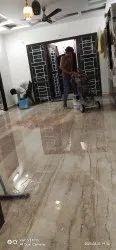 Polished Marble floor Glass Polishing Service