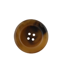Yellow & Black 4 Hole Sewing Button, Size/: 42l