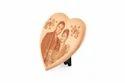 1089SM Heart Wooden Plaque