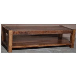 Reclaimed Mango Wood Coffee Table