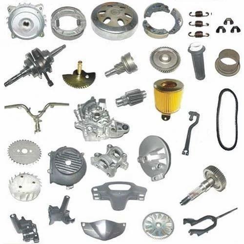 Steel LML Vespa Scooter Spare Parts, Amma Motors | ID