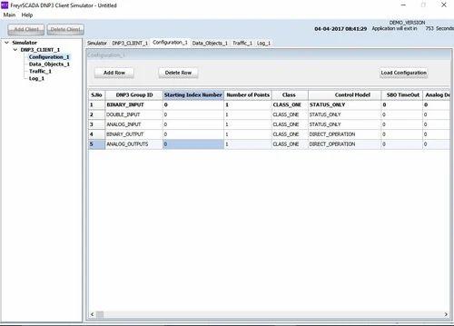 DNP3 Client / Master Simulator, Software Development