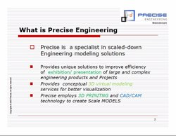 Precise Engineering Corporate Presentation.