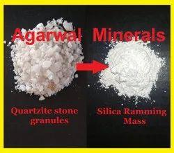 Acidic Silica Ramming Mass