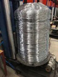 商用Qlty镀锌电线,仪表尺寸:8 SWG至16 SWG