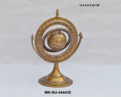 Brass Decorative Armillary Globe