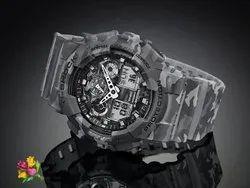 Black Casio G-Shock Analog-Digital Mens Watch