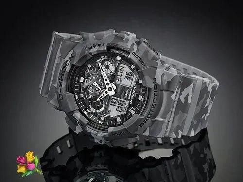 e1ba58f1523 Black Casio G-Shock Analog-Digital Mens Watch