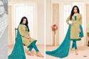 3/4 Sleeve Maarisha Salwar Suit Fabric