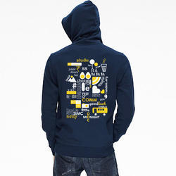 Customized Blue Hoodie