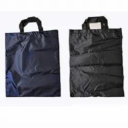 Loop Handle Plain Nylon Shopping Bag