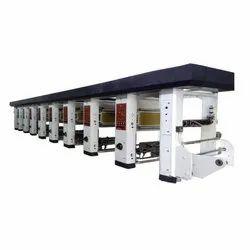 8 Color Rotogravure Printing Making Machine