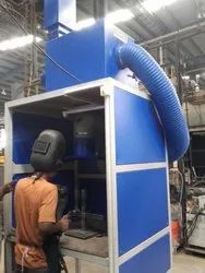 Cleantek Electrostatic Fume Extractor for Booth Welding, Capacity: 1000 Cmh to 15000