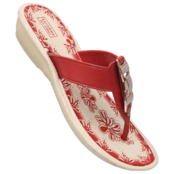 Womens-Lucky Buckle-Eva Slippers
