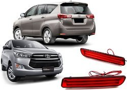 Rear Bumper LED Reflector Light For Innova Crysta