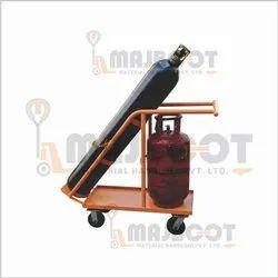 Double Gas Cylinder Trolley ( LPG Oxygen Gas Cylinder Trolley)