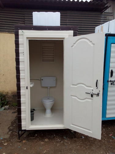 Frp Modular Portable Toilet Rs 25000 Piece Rushabh