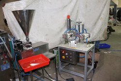 Tube Cream Filling Sealing and Trimming Machine