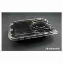 LB-50-Black Plastic Container