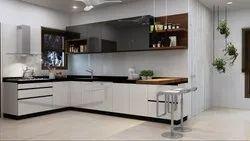 Modern Wooden Kitchen Interior Designing Service