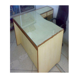 Office Table Simple 3'x5' with Three Drawer