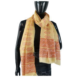 Ladies Block Printed Stole