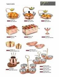Hotelware Copper and Steel Items