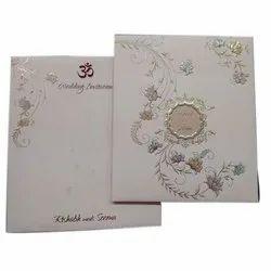 Cardboard Designer Wedding Cards