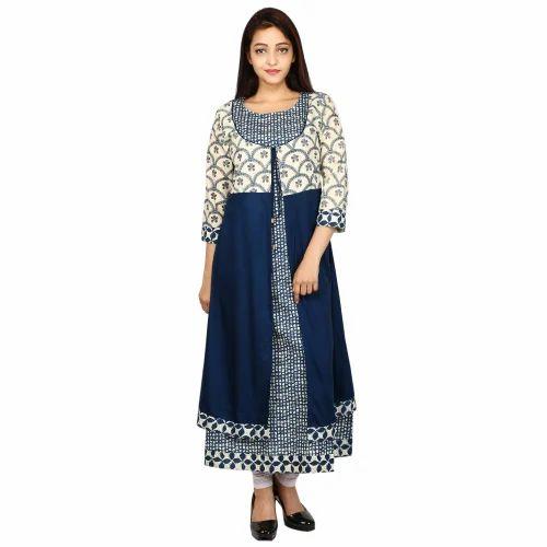 471005d5df1 Latest Ladies Kurti / Cotton Kurti Designs / Long Kurti at Rs 550 ...