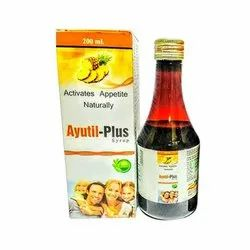 Ayutil-Plus Syrup, Packaging Size: 200 Ml, Packaging Type: Bottle