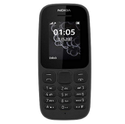 Nokia 105 Black Mobile, Memory Size: 4 Mb