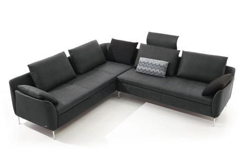 5 Seater Leather Office Sofa