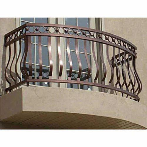 MS Balcony Railing, एमएस बालकनी रेलिंग at Rs 350 /square ...