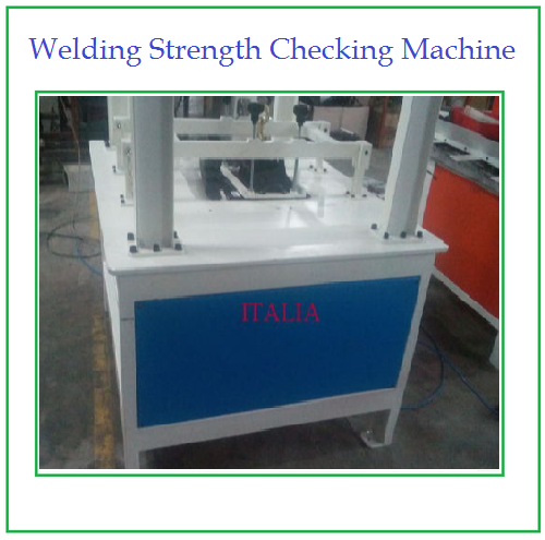 Welding Strength Checking Machine
