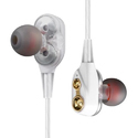 Pvc White Xt21 Earphone