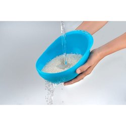 Kitch Cut Blue, green Plastic Rice Bowl