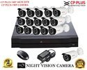 Cp Plus 16 Channel Dvr 16 Cp Plus Camera 2 T.b Surveillance Hard Drive 16 Channel Power Supply